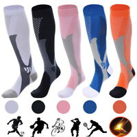 20-30mmHg Unisex Compression Socks Socking Recovery Relief Prevent Swelling