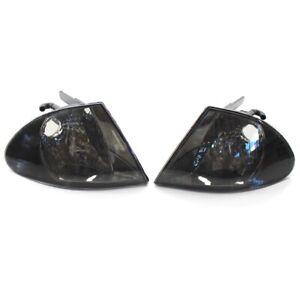 Turn Signal Parking Side Corner Marker Light Lamp Pair Set for BMW 3 Series E46