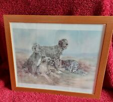 """""""WOLFHOUND FAMILY""""  - Joy Glasspool.  Signed & numbered from limited run."""