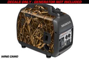 Decal Wrap For Honda EU2000i Skin Camping Generator Engine Sticker WING CAMO
