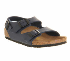 Leather Upper Sandals Buckle Medium Shoes for Boys