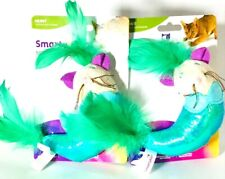2 Count SmartyKat Hunt Mer Mouse Kicker Cat Toy Perfect Size To Wrestle & Hug