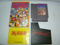 Nintendo NES Dr. Mario game cartridge w/ box & manual, tested, working