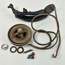 Singer Industrial Arm Brake Pulley Belt Antique - Parts Only Listing