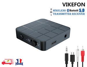 Bluetooth 5.0 Audio Récepteur Émetteur 2 en 1 HIFI adaptateur MP3 RCA AUX