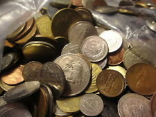 "2 POUND ""BULK"" WORLD FOREIGN COIN LOTS ""Kids Love Coins!"" #9kjiuhtf"