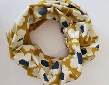 Seasalt Organic Handyband Headband- Scarf Face Covering Mustard floral New
