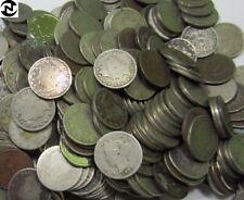 (20) Liberty V Nickel Lot / 1800's+1900's / 20 Coins / Low Grade