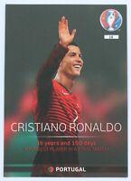 Panini Adrenalyn XL EURO 2016 #18 Cristiano Ronaldo Portugal Legend TOP RARE