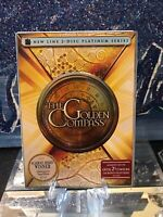 The Golden Compass (DVD, 2008, 2-Disc Set, Platinum Series) With Slipcover. Nice