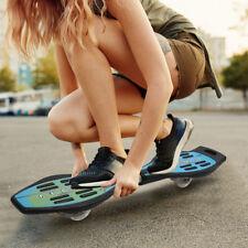 Waveboard Casterboard Skateboard Surfboard Caster Board Streetboard LED Rollen