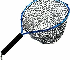 Landing Fishing Net Foldable Brail Blue Soft Rubber Tackle Monofilament Fishnet
