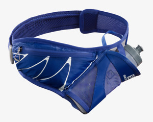 2021 Salomon Sensibelt Unisex Running Belt - Clematis Blue