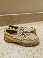 Girls SPERRY TOP-SIDERS Intrepid Leather Shoes Loafers Size 13 M