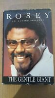 "Rosey Grier Signed Book ""Rosey-The Gentle Giant"" An Autobiography-'86 FEARSOME 4"