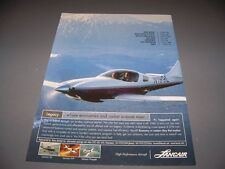 Vintage... Lancair Legacy... Original Color sales ad... selten! (199k)