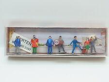 Lot 17941   merten ho trabajadores transporte delincuentes & modelo 1:87 figuras ferroviario en Box