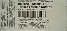 Eintrittskarte UEFA CL 2011/12 Udinese Calcio - Arsenal FC