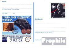 BRD (BR.Duitsland) PSo52 Speciale Postkaarten gefälligkeitsgestempelt gebruikt 1