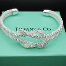 MinimalistAdjustable Knot Mesh Opening Hand Cuff Bracelets for Holiday D
