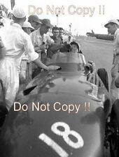 Stirling Moss Vanwall Winner Italian Grand Prix 1957 Photograph