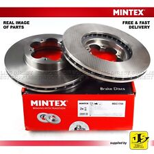 2X MINTEX FRONT DISC BRAKES MDC1759 FOR FORD TRANSIT TOURNEO 2.2 TDCi GENUINE