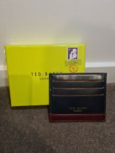 Ted Baker Genuine Leather Men's Card Wallet Accessory