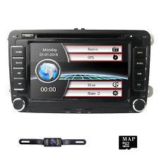 "7"" Car GPS Navigation CD DVD Receiver 2DIN Radio Stereo for VW JETTA PASSAT GOLF"