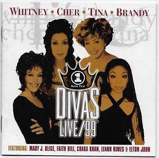VH1 Divas Live 1999 by Various Artists CD 1999 Arista