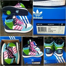 EXTREMELY RARE~BRAND NEW IN BOX ADIDAS ORIGINALS DECADE HI WOMENS SHOES~SIZE 7.5