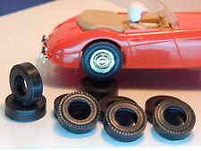 8 pneus AR URETHANE  Austin Healey  SCALEXTRIC  ou Pink Kar