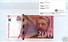 FRANCE 200 FRANCS EIFFEL 1997 QUALITE !!!!