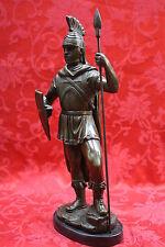 Bronze Marble Sculpture Statue Figure Spartan Warrior Roman Gladiator