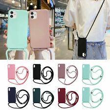 Soft TPU Phone Case+Lanyard Protective Cover for iPhone 13 Pro Max 13 mini 2021