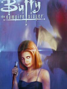 BUFFY THE VAMPIRE SLAYER Promo Poster Vtg 2002 Dark Horse Gellar Lee Rare 36x24