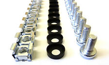 """60 Pack of M6 Cage Nuts Washers Screws 19"""" Data Network Rack Cabinet Mount PDU"""