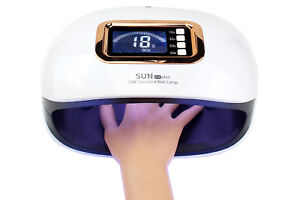 Lampada unghie uv led 2 in 1 fornetto unghie nail lamp 72w 36 led SUN H4 PLUS