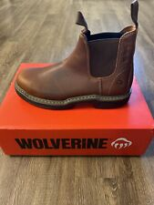 Wolverine Steel toe Raider work boots new