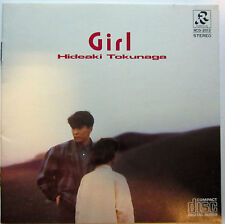 HIDEAKI TOKUNAGA GIRL 1986 Made In Japan Cd Album