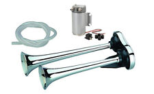 Kompressor-Doppelhorn 35/31cm 12Volt 2 Bar PKW Hupe Fanfare Fiat Ducato Talento