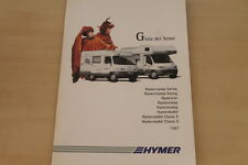 175070) Hymermobil S-Klasse E-Klasse Hymercar - Italien - Prospekt 1997