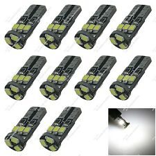 10X White T10 2652 2921 2825 9 SMD 2835 LED Dome Map Lights Side Lamp Auto ZA124