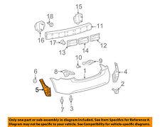 TOYOTA OEM 07-11 Yaris Rear Bumper-Side Seal Left 5259252220