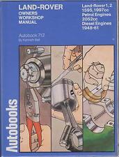 LAND ROVER SERIES 1 & 2 PETROL / DIESEL 1948 - 1961 OWNERS WORKSHOP MANUAL *VGC*