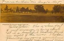 Wisconsin, WI, Prairie du Chien, Sanitarium 1905 UDB Postcard