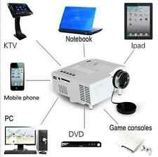 Mini Home Cinema Theater 1080P HD Multimedia USB LED Projector TV VGA HDMI AV UK