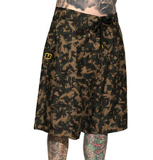 SULLEN CLOTHING TAT MACHINE CAMO BOARD SHORTS SWIM TRUNKS  SKULL TATTOO BEACH 30