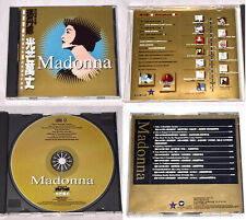 Madonna 1999 Ray Of Light No.1 Remixes Sampler Taiwan Edition 9 Track Promo CD