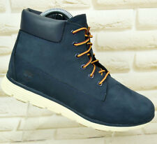 TIMBERLAND KILLINGTON 6 In Blue IRIS Leather Mens Junior Ankle Boots 6.5 UK 40EU