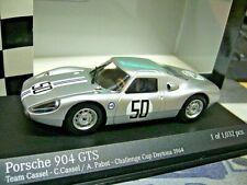 PORSCHE 904 Carrera GTS Daytona 1964 #50 Cassel Pabst Racing Minichamps 1:43